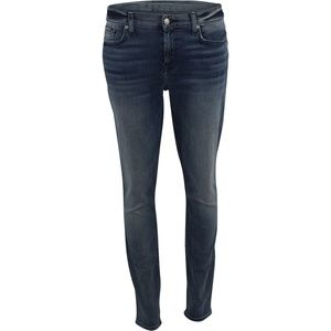 7 For All Mankind The Ankle Skinny Jean Navy